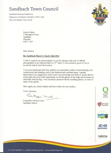 mayor letter to me